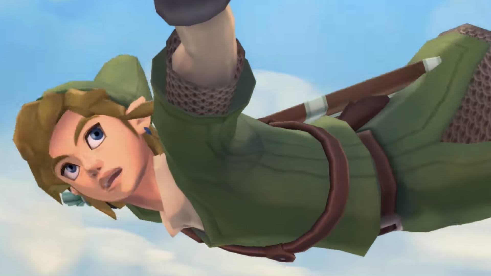 Two hours of The Legend of Zelda: Skyward Sword HD gameplay