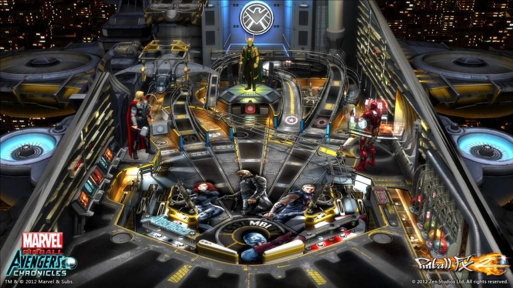 Marvel Pinball: The Avengers Chronicles