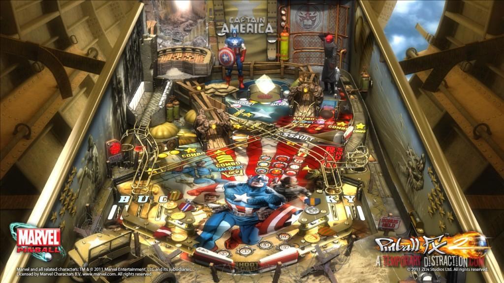 Marvel Pinball:Captain America