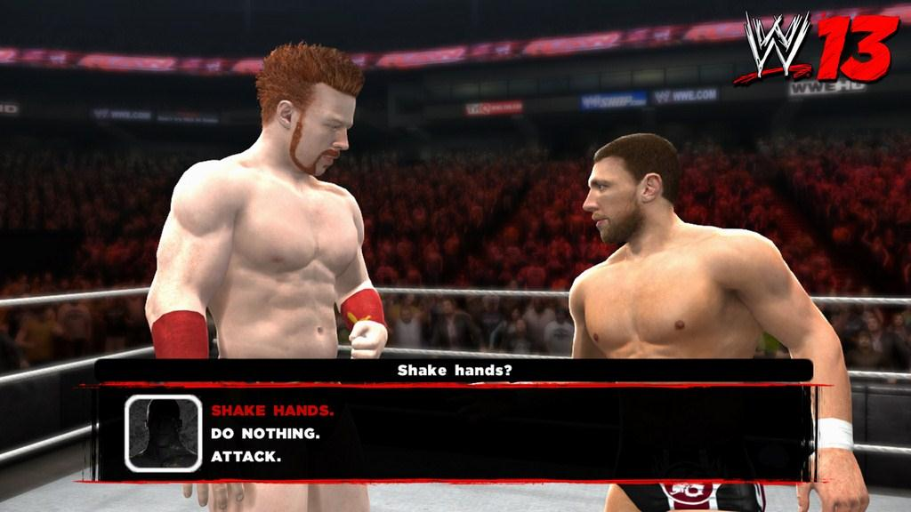WWE '13 Hands on Preview