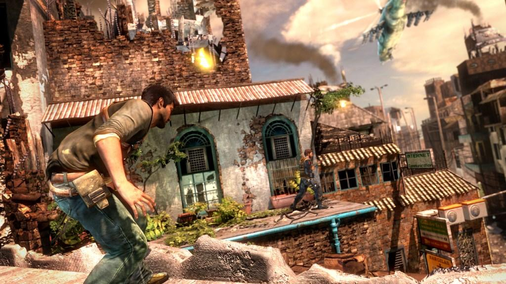 Uncharted 2: Among Thieves.