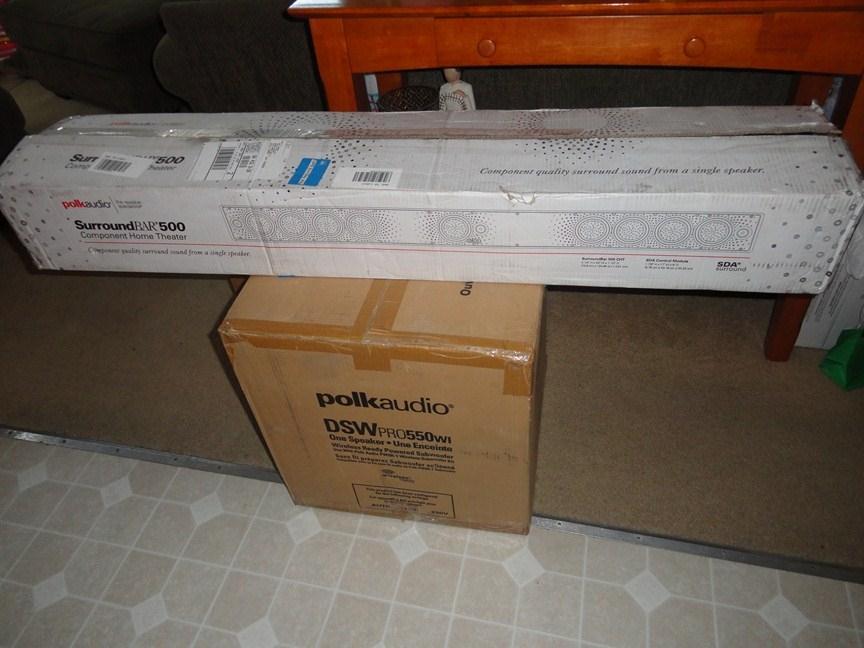 Polk CHT 500 SurroundBar