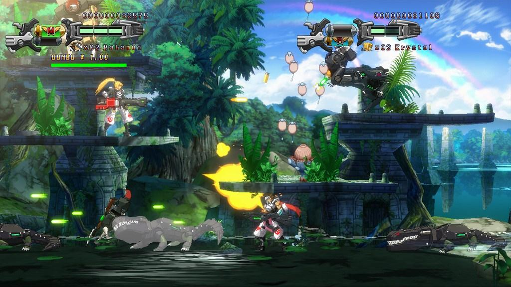 Hard Corps Uprising Review Gaming Nexus