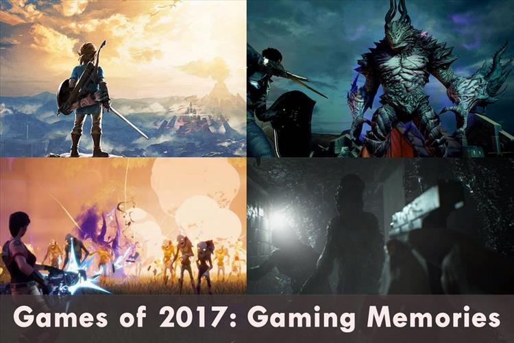 Games of 2017: Our Favorite Gaming Memories