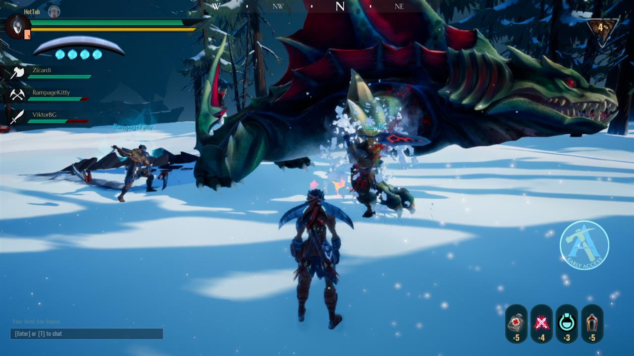 Dauntless Preview - Gaming Nexus