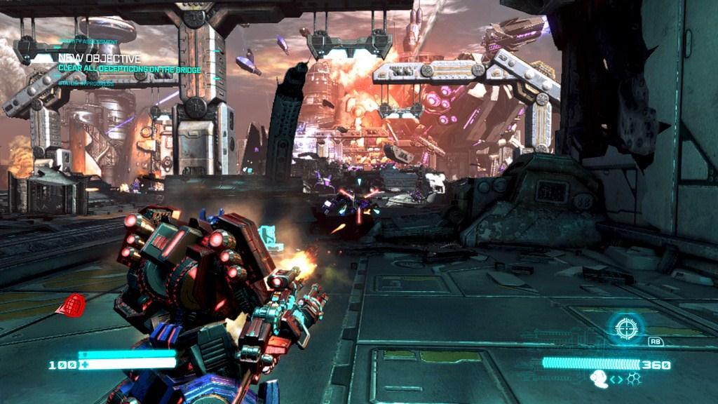 transformers fall of cybertron review gaming nexus