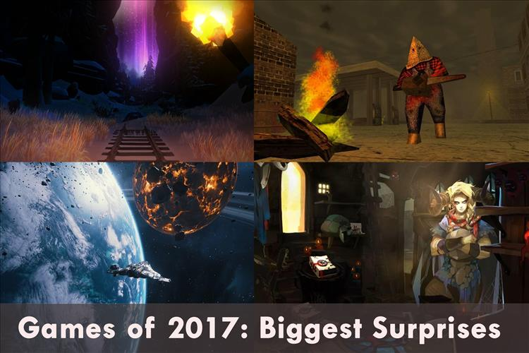 Games of 2017: Surprise Games of 2017