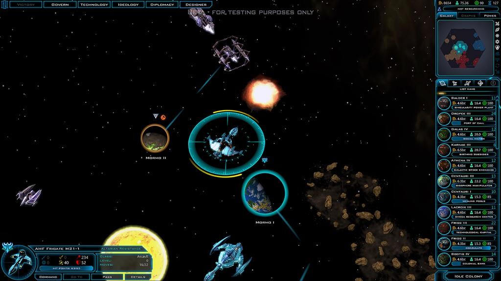 Galactic Civilizations III October Beta preview