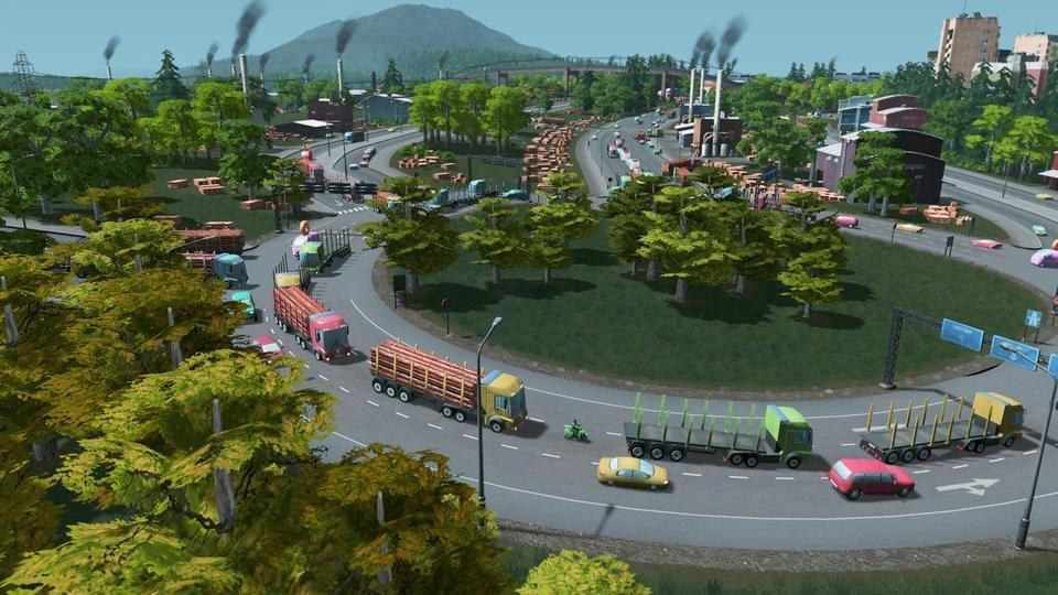 Cities skylines review gaming nexus for Us city skylines photos