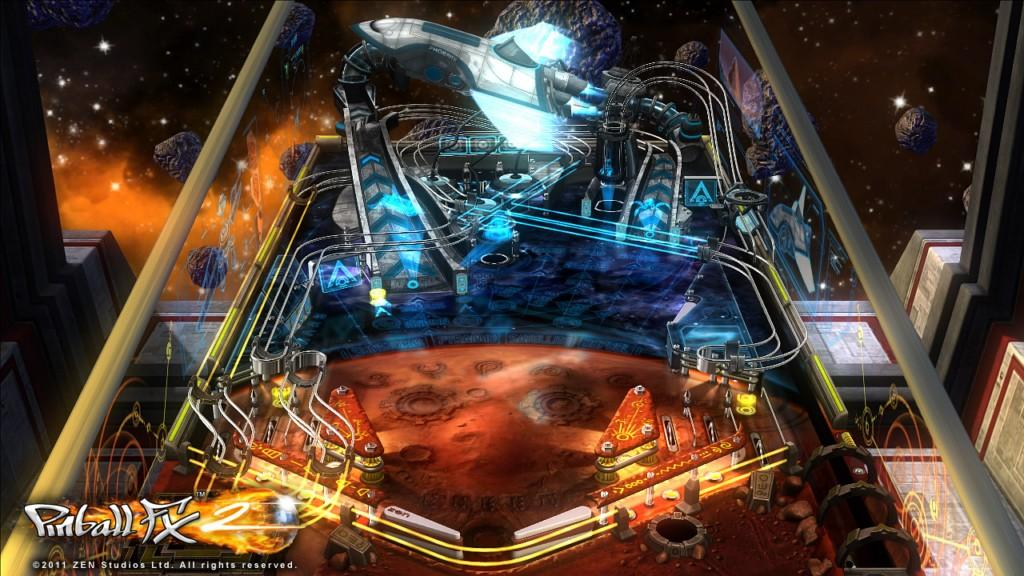 Pinball FX2 - Mars Table