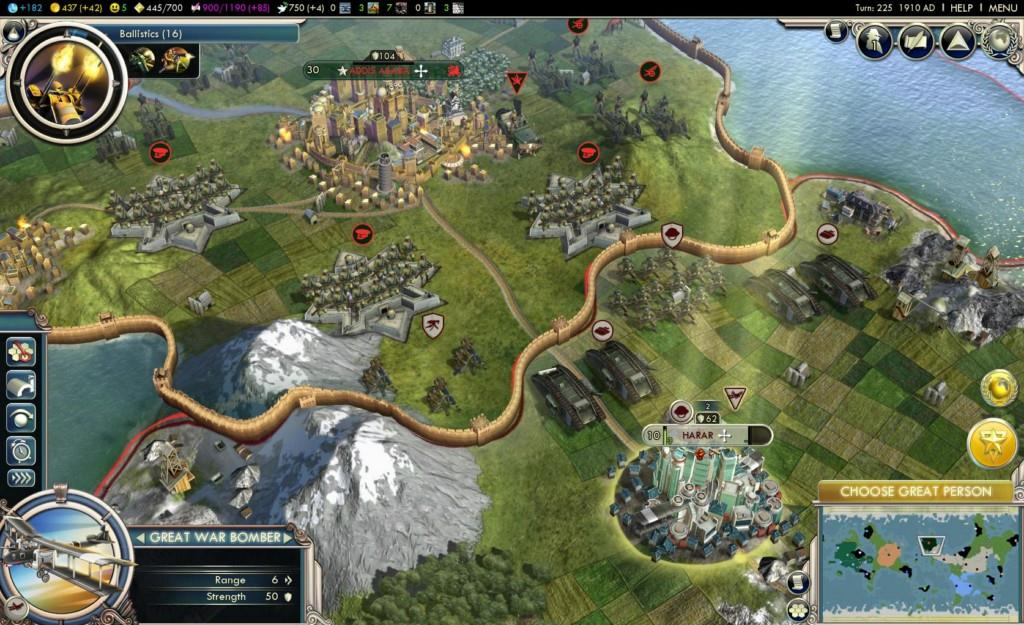Civilization V and Home Security