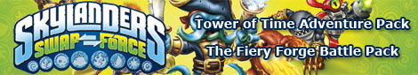 Skylanders: Swap Force Expansion Packs