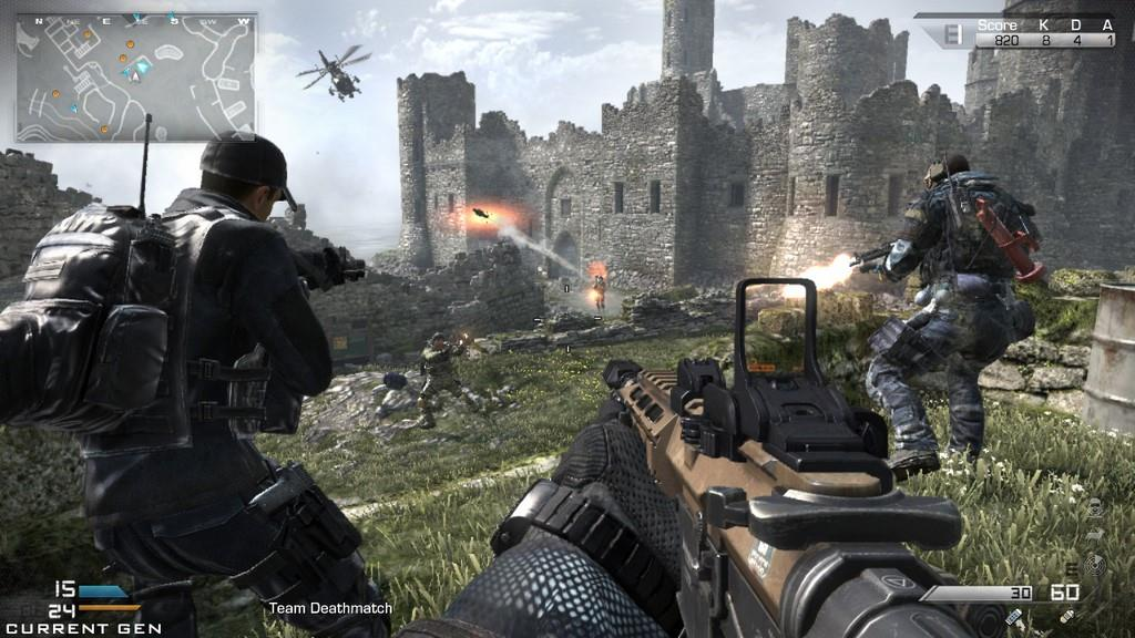 Call Of Duty Ghosts Review Gaming Nexus