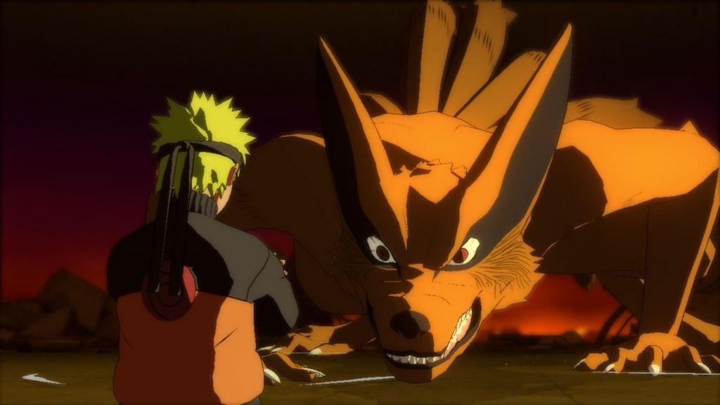 Naruto's Talk with Nine Tails