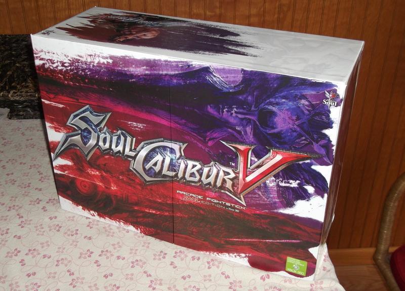 Mad Catz Soul Calibur V Arcade FightStick Soul Edition