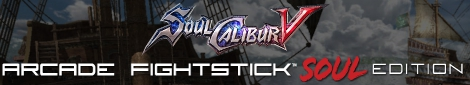 Mad Catz Soul Calibur V Arcade FightStick Soul Edition