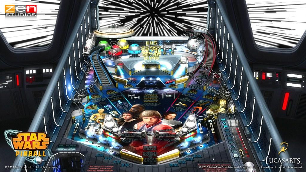 Star Wars Pinball Interview