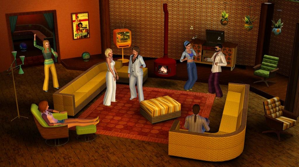 The Sims 3 70s, 80s, and 90s Stuff Pack