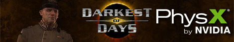Darkest of Days PhysX