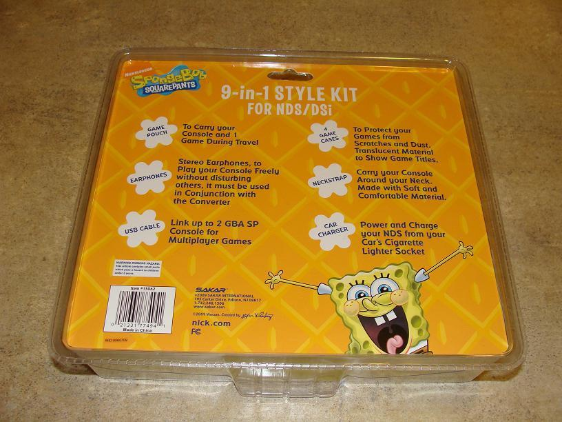 Hooked Up – SpongeBob DS Style Kit