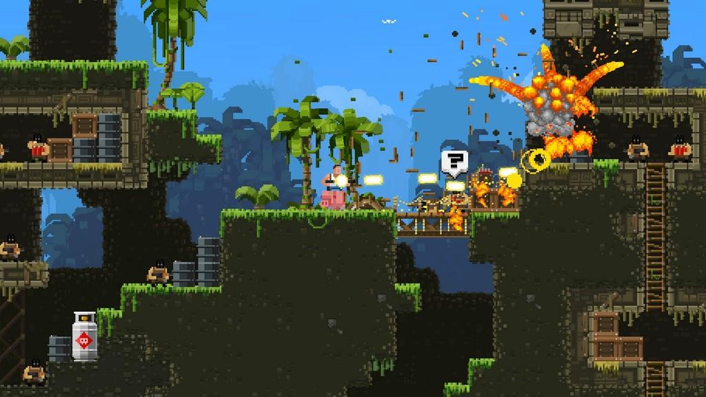 Broforce jungle