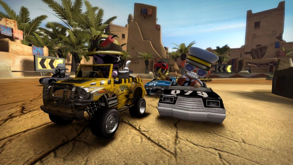 Modnation Racers Review Gaming Nexus