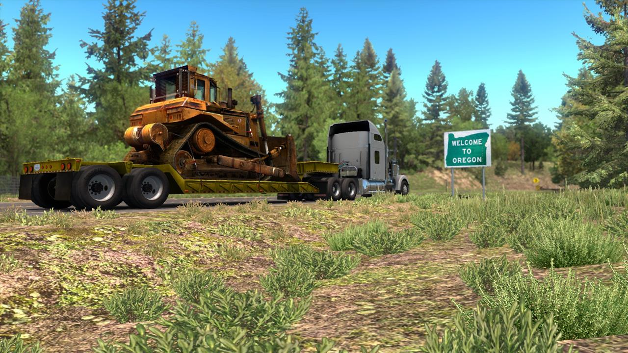 I didn't care about American Truck Simulator until it came to my home state