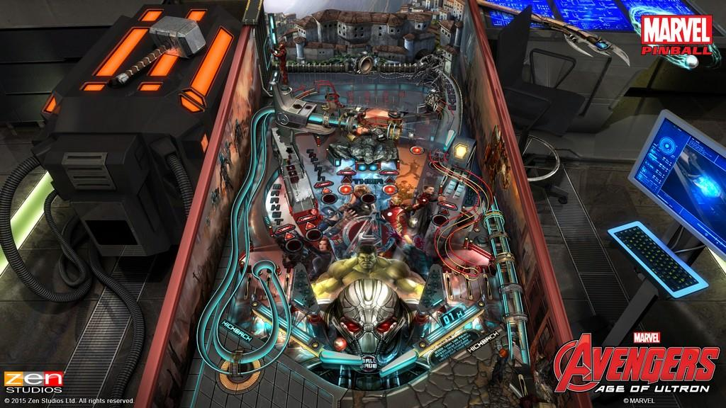 Marvel's Avengers: Age of Ultron Pinball