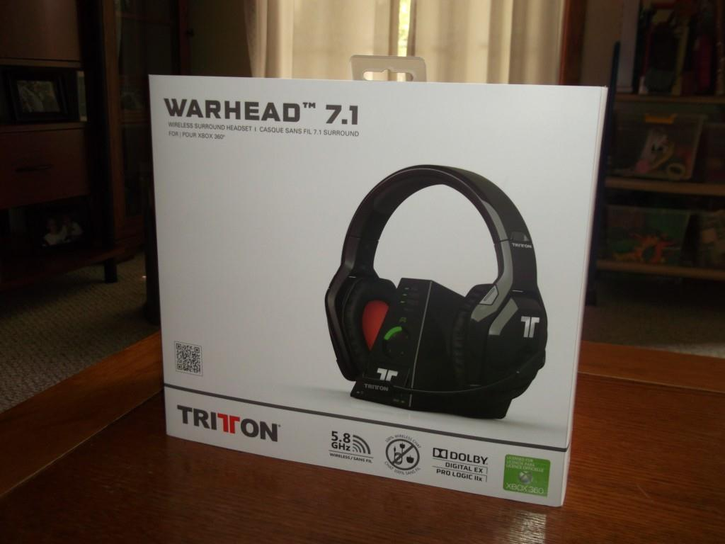 TRITTON Warhead 7.1 Dolby Wireless Surround Sound Headset