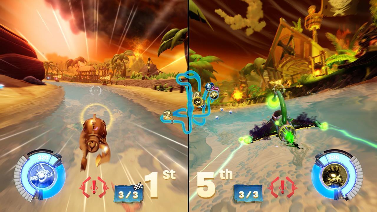 Uncategorized Can You Play Skylanders Online skylanders superchargers review gaming nexus superchargers
