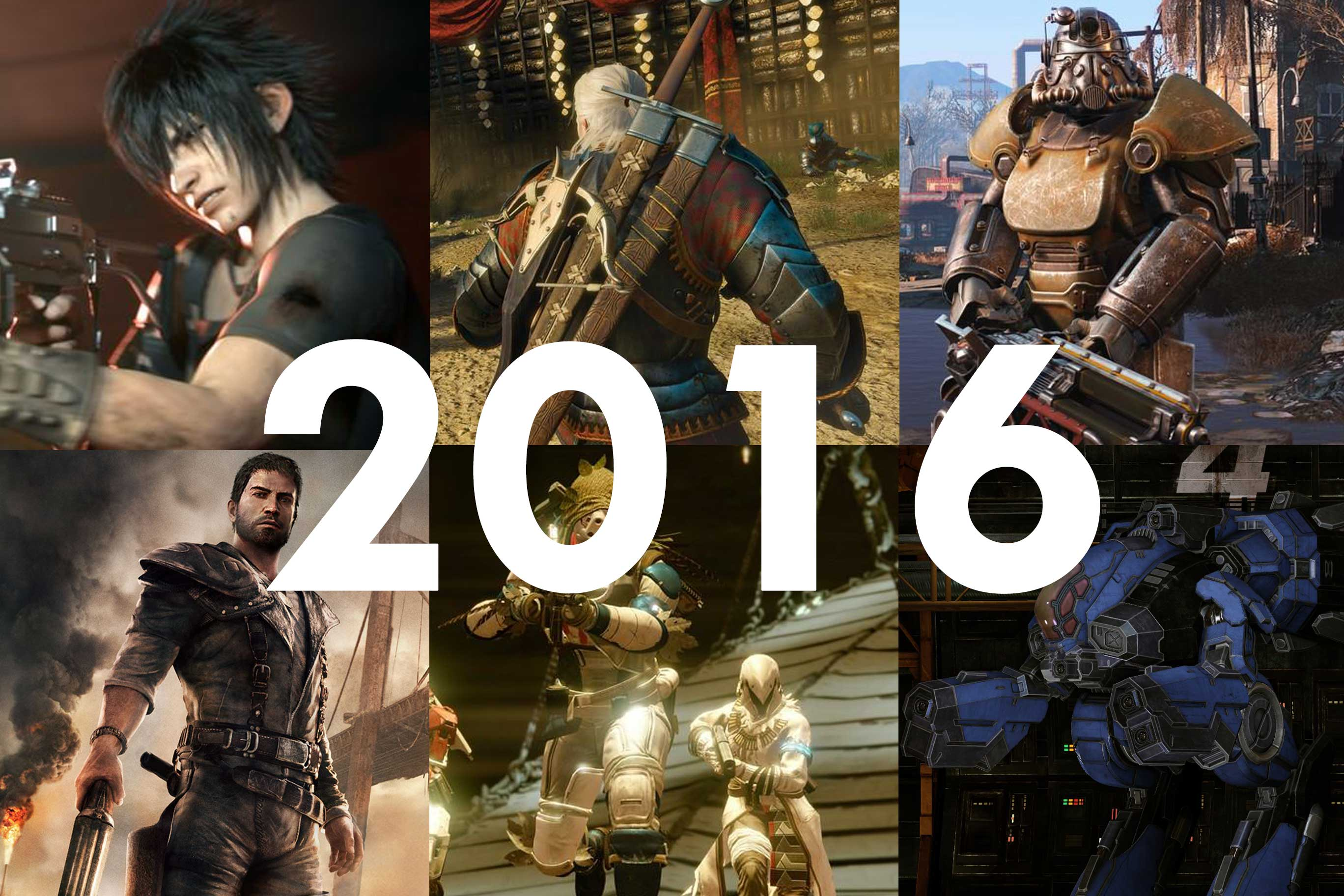 Looking Back at 2016: The games we played the most