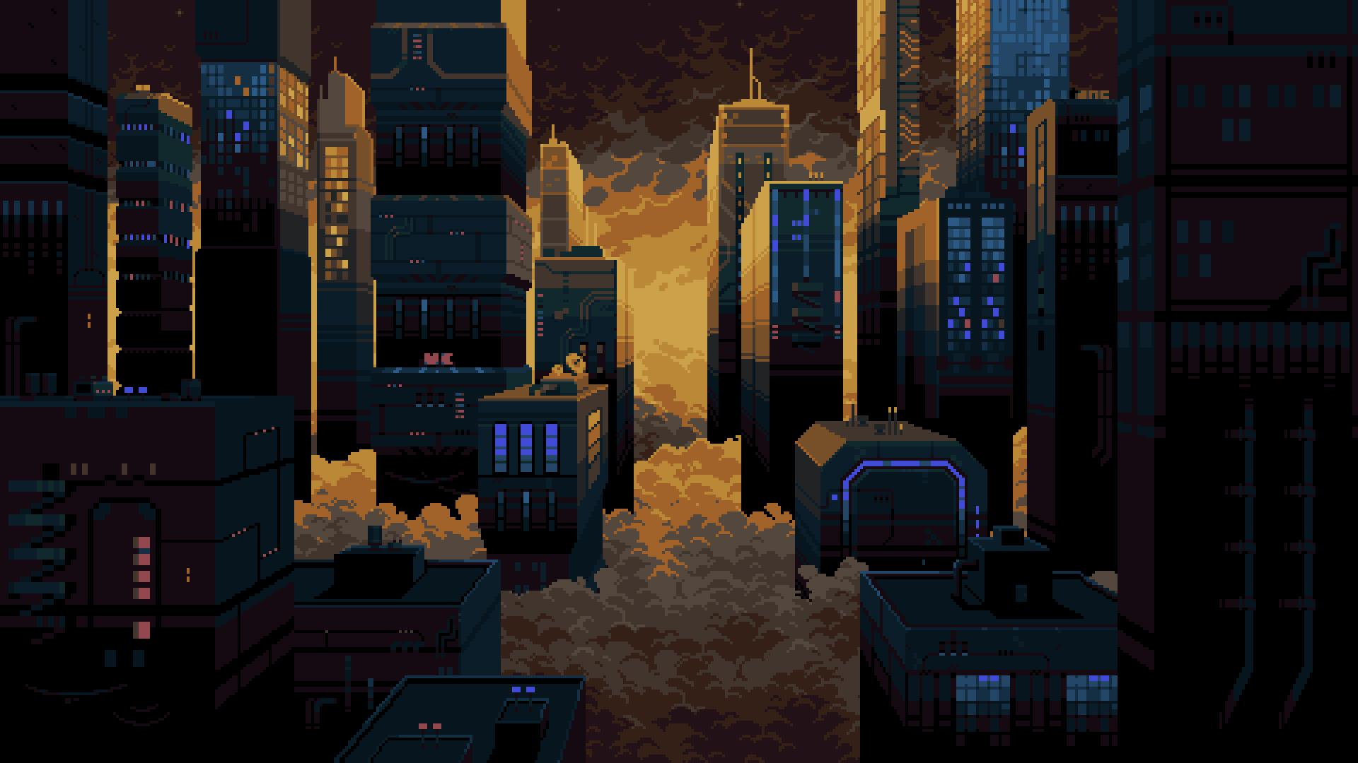 Dystopian NYC 2048