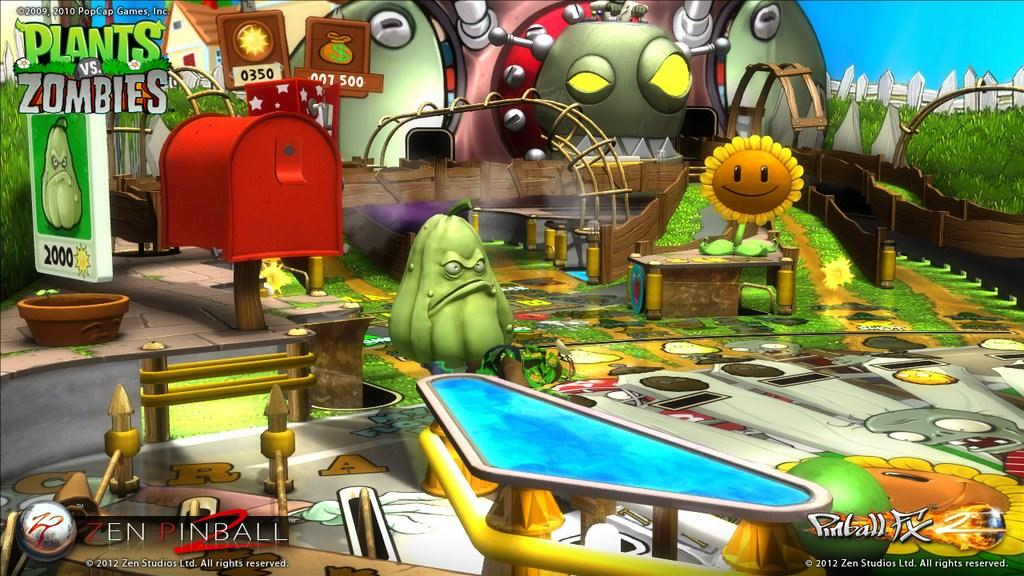 plants vs zombies pinball review gaming nexus