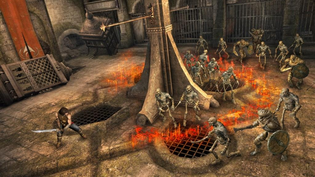 Prince Of Persia The Forgotten Sands Review Gaming Nexus