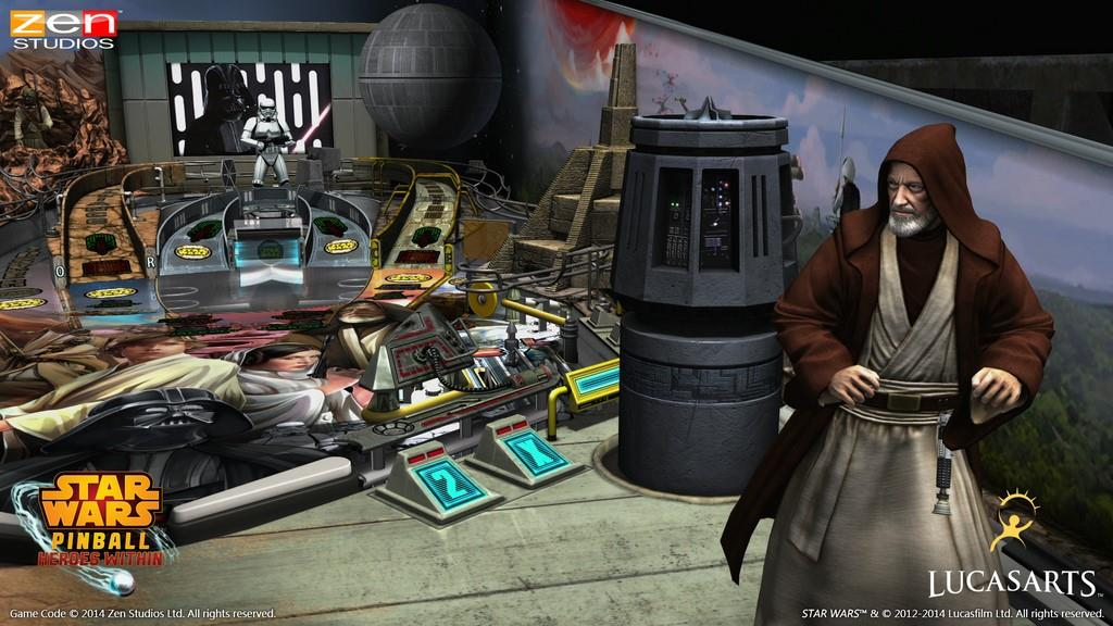 Star Wars Pinball:Heroes Within