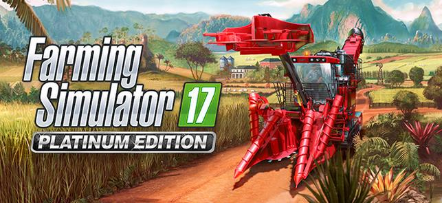 Farming Simulator 17 Platinum Edition coming Nov. 14