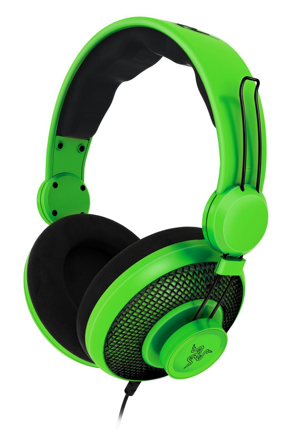 Razer has some pretty green headphones
