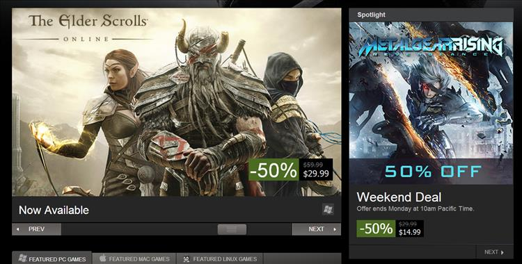 The Elder Scrolls Online now on Steam and streaming from QuakeCon