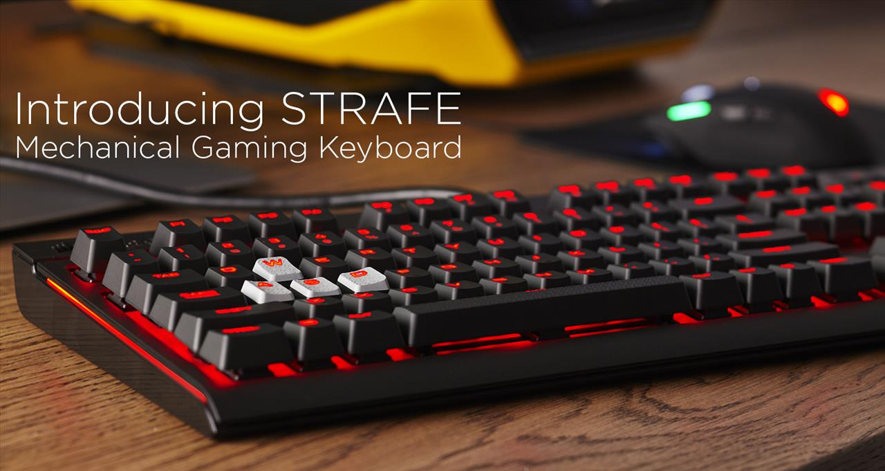 E3 2015 Corsair Strafe Hands On Gaming Nexus Cherry Mx Red Led The Will Retail For 10999 And Is Scheduled Release In Late June Which Means It Should Soon Begin Appearing At Retailers