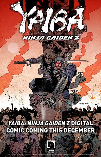 Dark Horse to publish Yaiba: Ninja Gaiden Z comic series