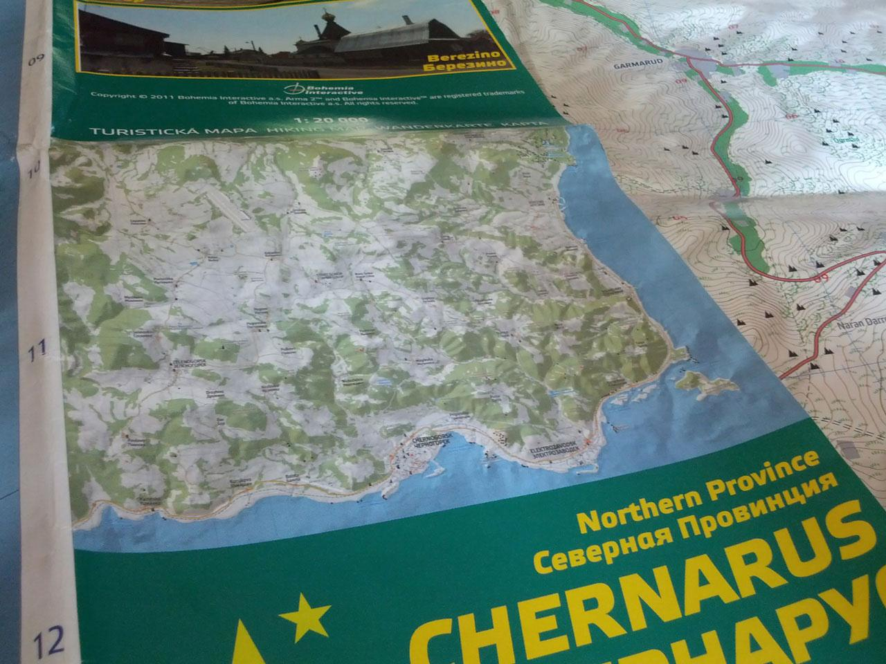 Arma 2: Chernarus Map Collection (Review) - Gaming Nexus Chernarus Map on