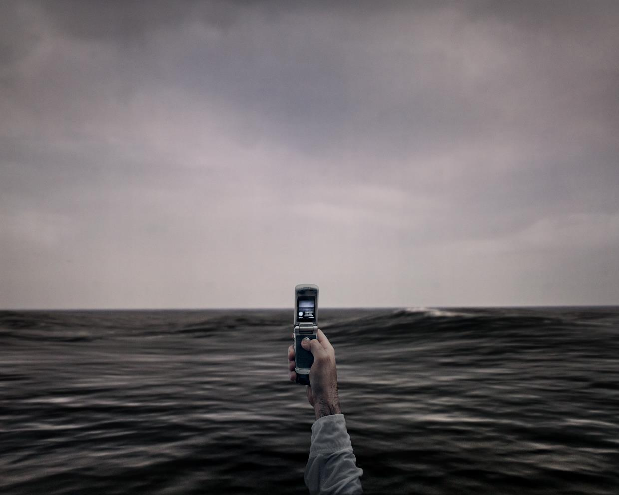 Photographer wants to punch reality in the face with his