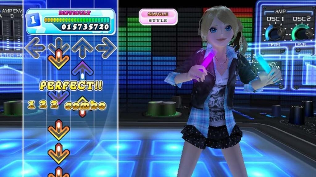 how to play dance dance revolution on wii