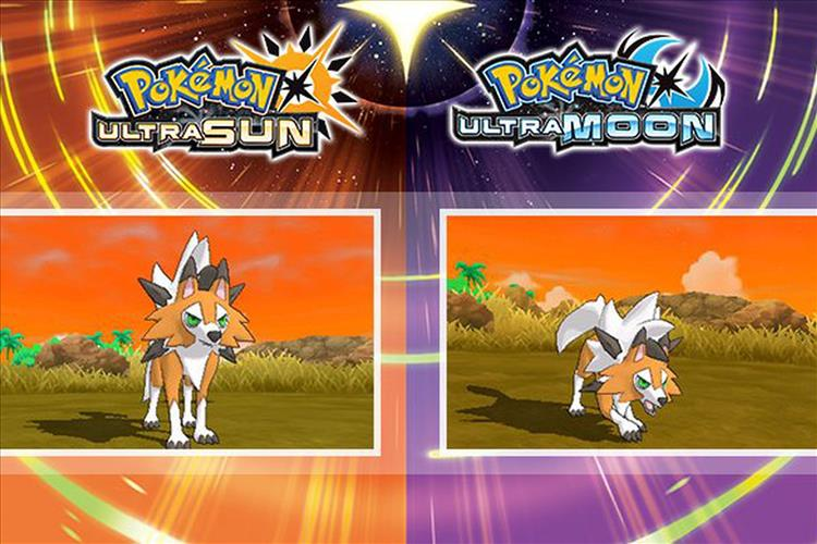 dusk form lycanroc howls for pokémon ultra sun ultra moon hype