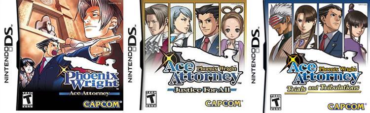 Nintendo eShop - Phoenix Wright: Ace Attorney Trilogy for