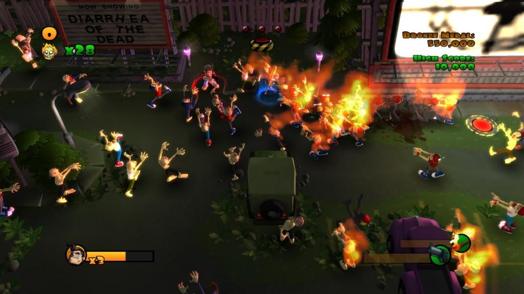 Zombies Burn in these new screenshots - Gaming Nexus