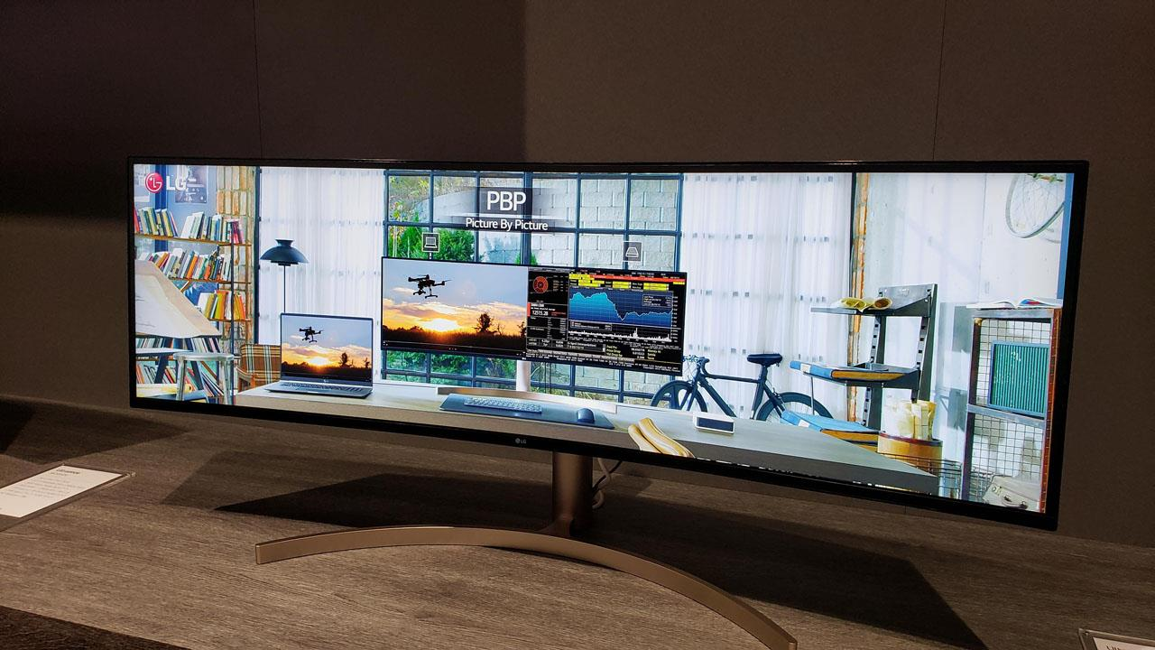 CES 2019: LG has some wide, and I mean wide monitors for
