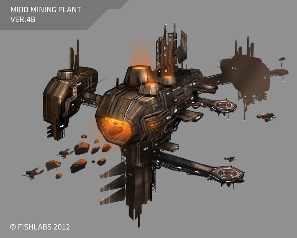 Галерея - galaxy on fire 2 - square faction