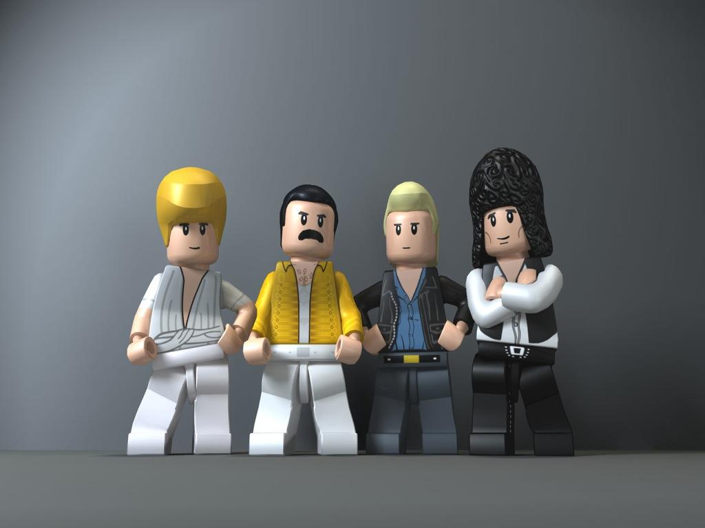 LEGO Rock Band Gets Some Queen Appearances Gaming Nexus