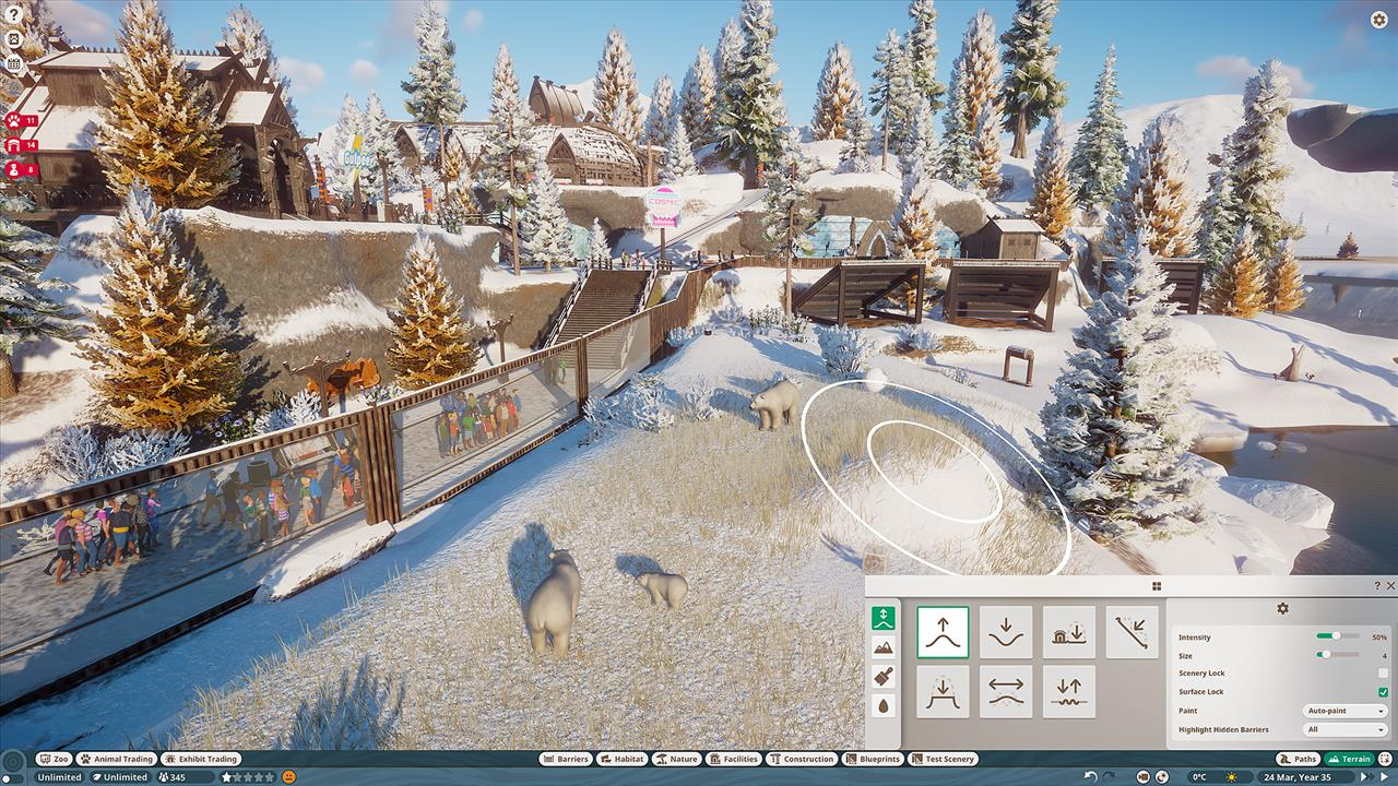 Planet Zoo Goes All Dovahkiin In New Arctic Pack Gaming
